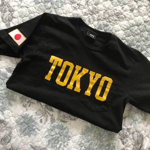 "Stussy ""Tokyo"" black T-Shirt"